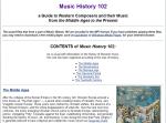 IPL.orgMusicHistory102